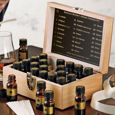Gruinart Whiskey Tasting Aroma Kit - Great Gifts for Men