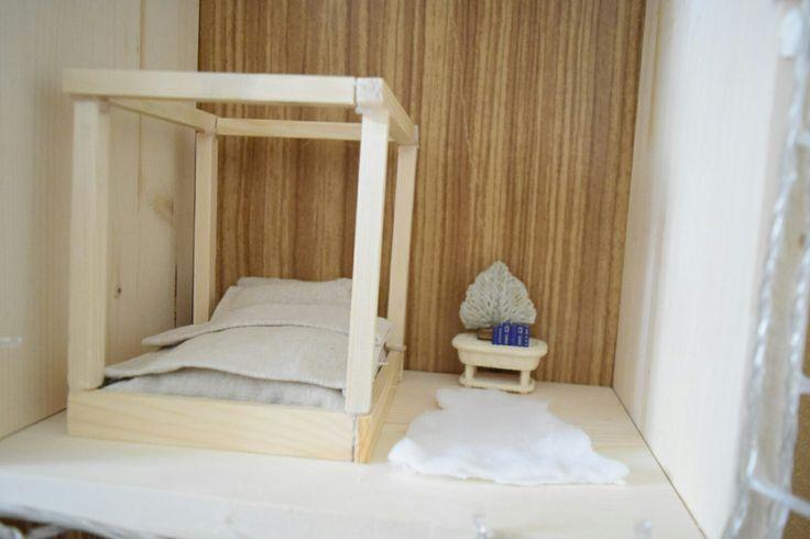 #sylvanian #sylvanianfamilies #bed #miniatures #modern #dollhouse