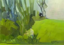 Artiste dans les verts LeSauteur, Claude