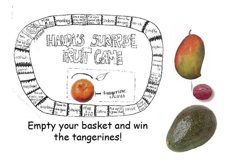 Handa's Surprise fruit game