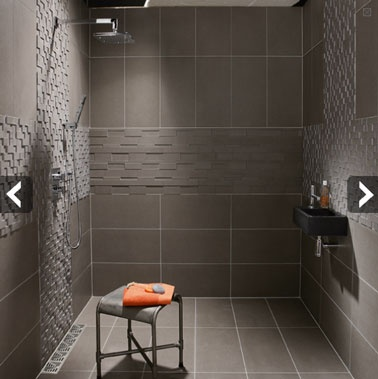 25 best salle de bain images on pinterest bathroom ideas for Petite salle de bain italienne