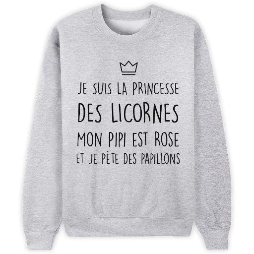 Princesse des licornes // Bienvenue sur Keewi.io - Créez et vendez vos T-Shirts Gratuitement