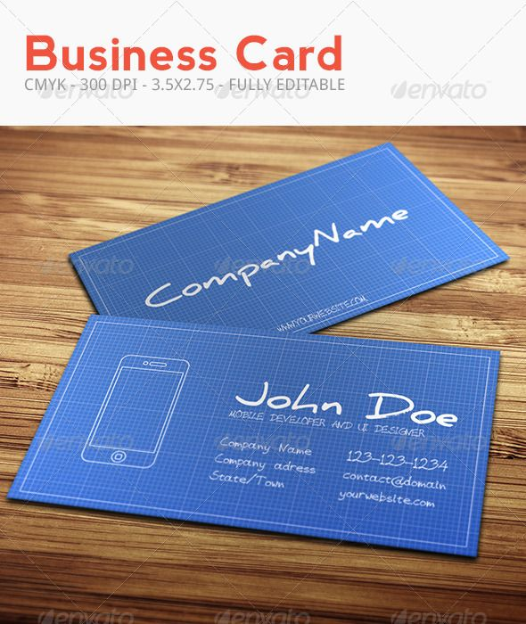 93 best print templates images on pinterest print templates blueprint business card graphicriver 2 psd files fully customizable and editable cmyk colors malvernweather Images