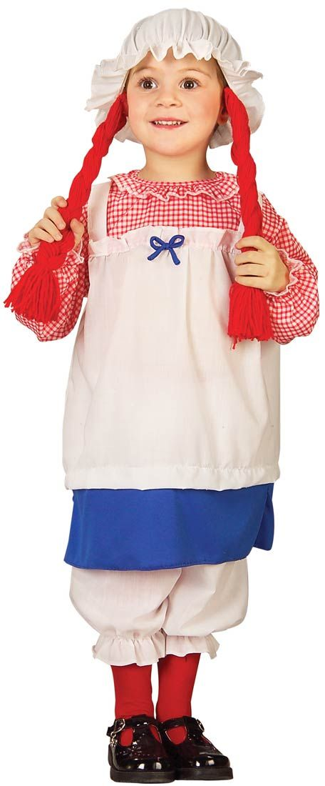 Toddler Little Rag Doll Costume | Costume Craze