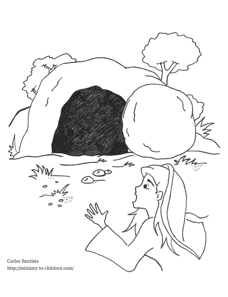 death and resurrection coloring pages - photo#23