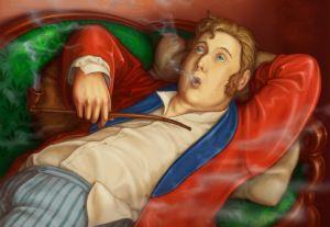 De grootste literaire luilak is zonder twijfel Oblomov uit de gelijknamige roman van Ivan Gontsjarov (1812-1891).