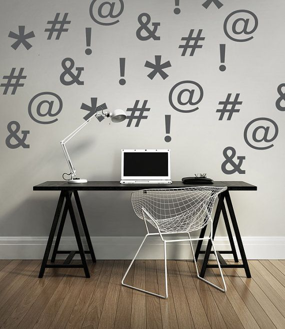 Best 25 office wall decals ideas on pinterest office for Office design hashtags