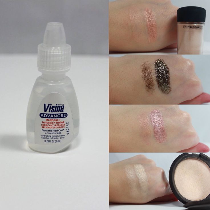 How to: Foil eyeshadows, pigments, highlighters, etc... An affordable alternative to MAC Fix +! Before & after swatches included. xoxo.