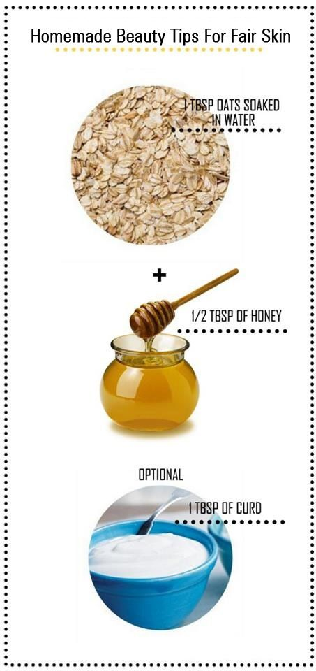 Homemade Beauty Tips For Fair Skin  I've tried this! and personallt recommend it♥