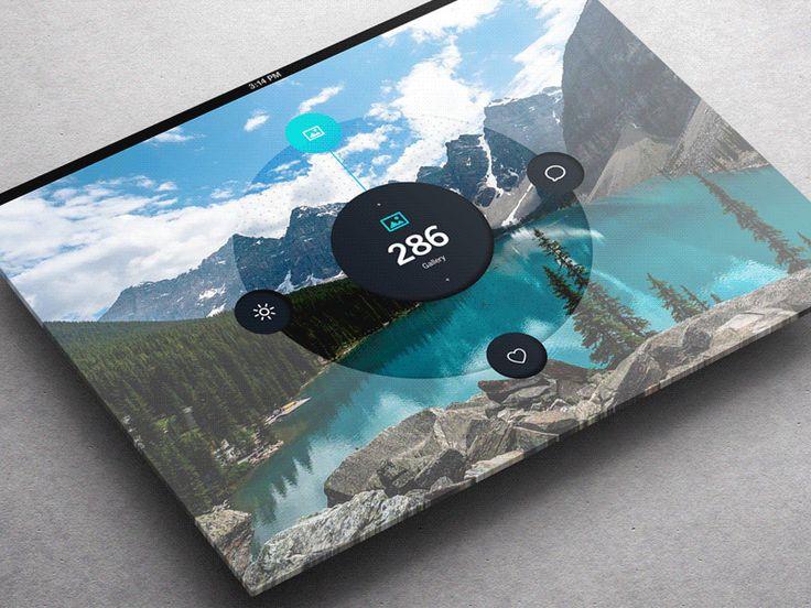 Weather Dashboard / Fullscreen / ALL [GIF]  by Jonathan Quintin