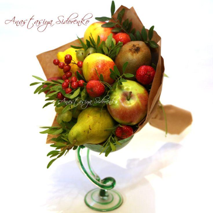 Gallery.ru / Фото #1 - Букеты из фруктов - AnastasiyaSidorenko