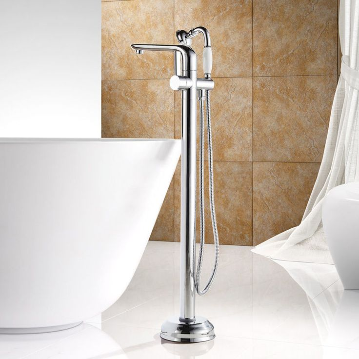 clawfoot tub faucet floor mount. Style and substance strike a perfect balance in this Eucho floor mounted tub  filler faucet Minimalist tone bathroom illustrates 30 best Floor Mounted Bath Filler Shower Mixer Tap images on