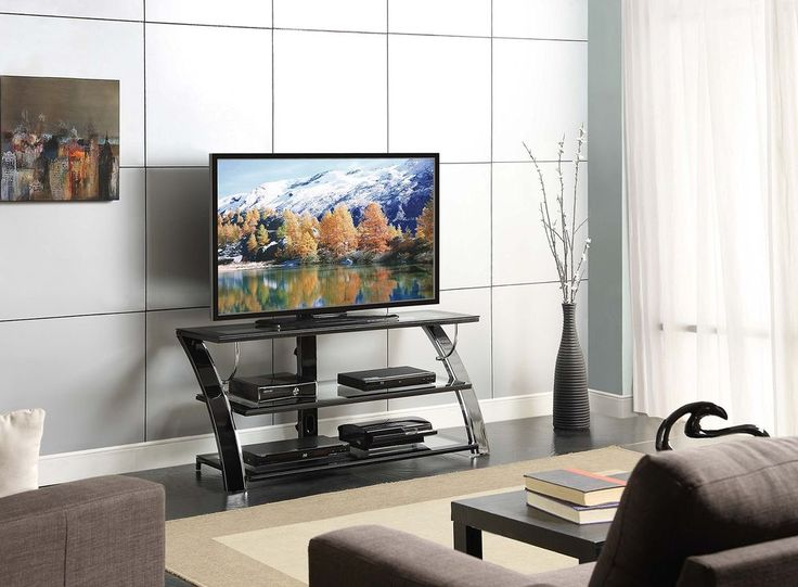 Modern Tv Stand Furniture Media Console Storage Entertainment Center Home Theate #WhalenFurniture#TV,#Stand,#Gaming,#Entertainment,#Media,#Furniture,#Home,#Theater,#Storage