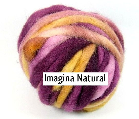 Corredale Super Chunky Roving Yarn Wool Grade 7 by ImaginaNatural