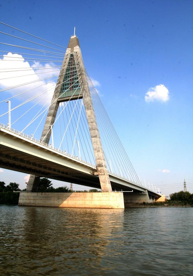 megyeri híd, Danube