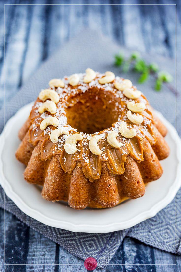 Babka z kajmakiem - pyszny wypiek na #wielkanoc. #przepis #ciasto #babka