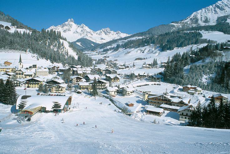 Отдых с детьми: Австрия, горнолыжный курорт Filzmoos