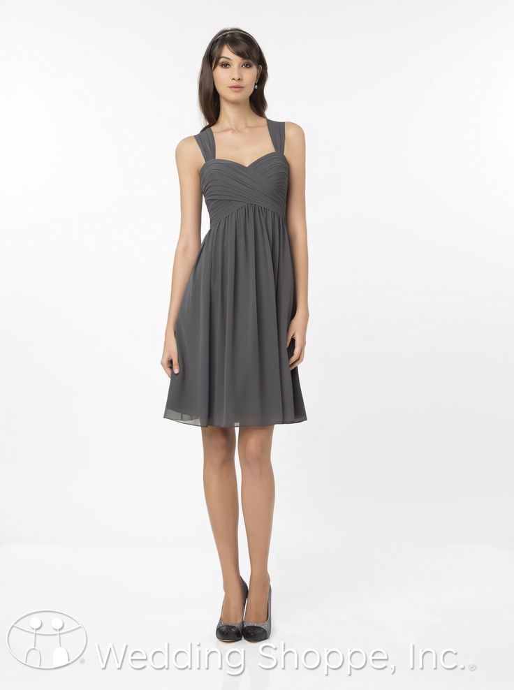 A tank style bridesmaids dress that's comfortable.