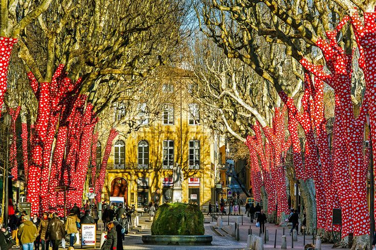 Aix-en-Provence, FranceMost people think of Paris as the go-to city in France, but if you're interested in exploring the best of the country's wine, food, and culture