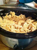 Best and easiest Chicken Alfredo I've tried thus far! LAWTEEDAH: Crock-pot Chicken Alfredo with Pasta