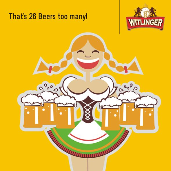 Oliver Strümpfel from Germany currently holds the record for carrying an impressive 27 mugs of beer for over 40m. Each mug contained 1 litre of beer making it a staggering 27 litres of beer carried! #BeerFacts #WitlingerBeer #CraftBeer #WheatBeer