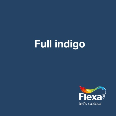 Collectie: Pure Kleur: Full Indigo URL: http://www.flexa.nl/nl/kleur/full-indigo