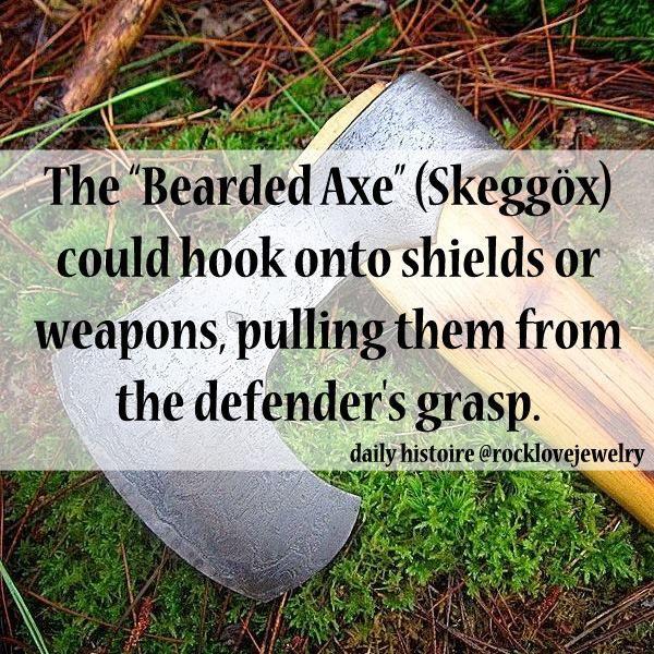 The bearded axe
