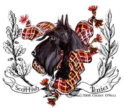 Tartan Scottish Terrier