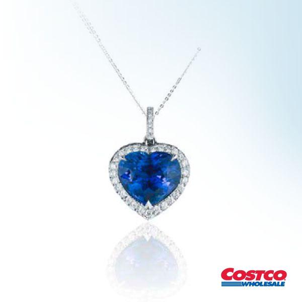 dd461009ce24 Collar de Zafiro Azul y Diamantes