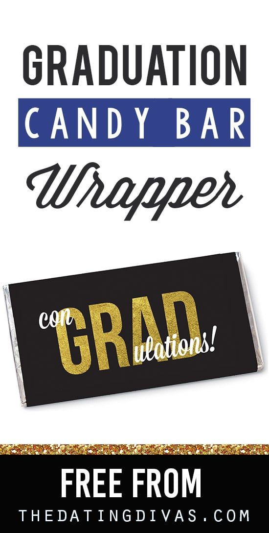 Free Personalized Candy Wrappers Graduation Ideas Pinterest