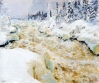 Imatra in Winter  Akseli Gallen-Kallela (1893)