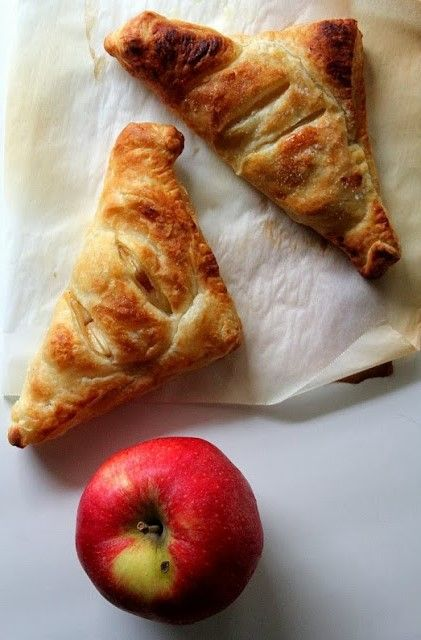 Apple Turnovers (vegan)