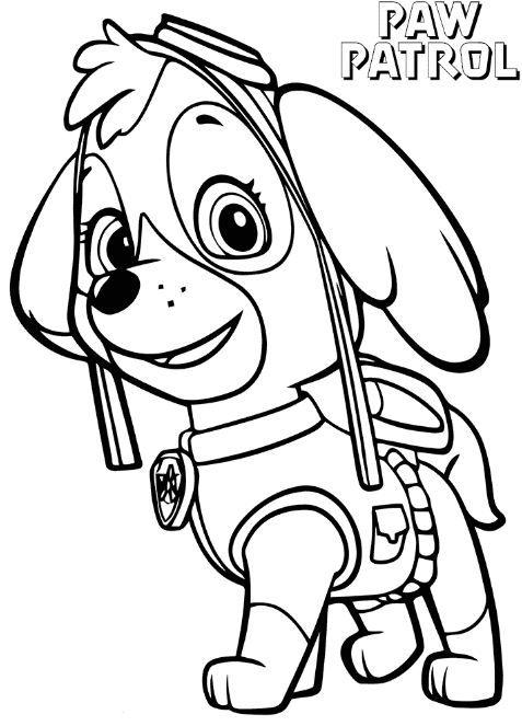 paw patrol coloring pages skye skye paw patrol coloring page | Coloring Board | Paw patrol, Paw  paw patrol coloring pages skye