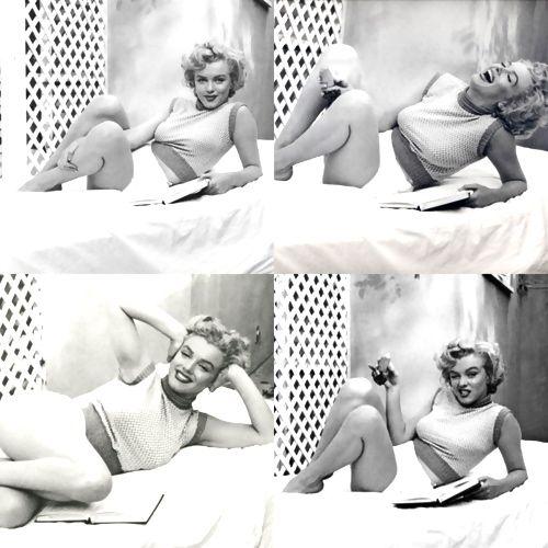 hollyhocksandtulips:  Marilyn