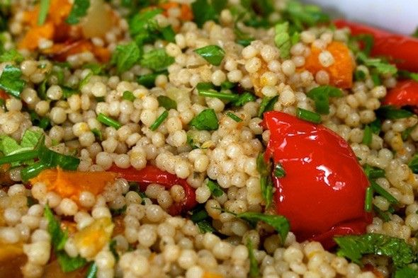 Summer Barbecue Recipes: Moroccan Couscous Salad