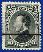 Honduras 32 Stamp - President Morazan Stamp - CA H 32-1 USED