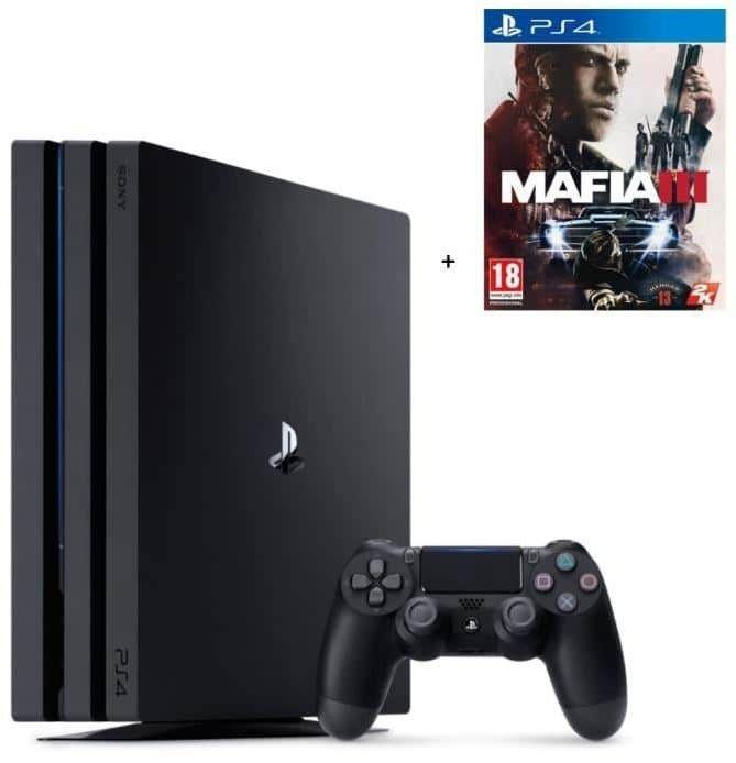 Bons plan: PS4 Pro 1TO noire + Mafia 3 pour 359,99€ @Cdiscount