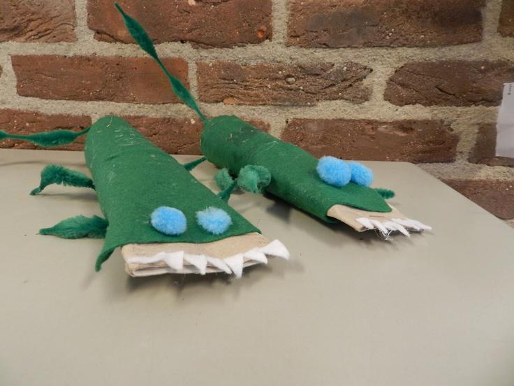 Dieren uit een ei: krokodil knutselen