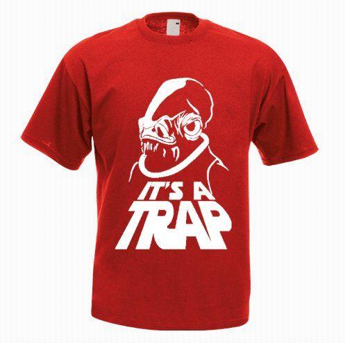 It's a Trap! Funny T-shirt - http://goo.gl/ISSxlC