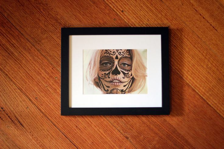 Framed work for sale by Steph Tesoriero. Avail. through The Local Artist facebook page.