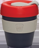 Take away coffee cup.  Keep Cup.  Perfect for a late Sunday Americano in the city.