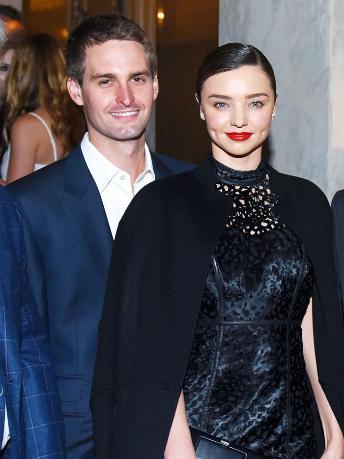 Miranda Kerr married Snapchat founder and CEO Evan Spiegal over the weekend.