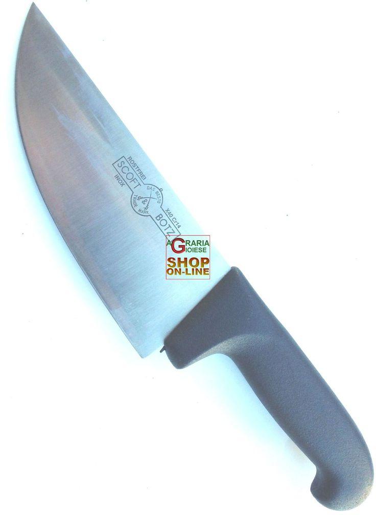 SCOFT-BOTZ COLTELLO DA BANCO LAMA CM. 9 LUNGO CM. 18 https://www.chiaradecaria.it/it/coltelleria-per-macelleria/16061-scoft-botz-coltello-da-banco-lama-cm-9-lungo-cm-18.html