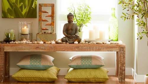 Crie na sua casa um espaço para meditação e desfrute do seu cantinho zen. #mundozen #zen #meditação #estilo