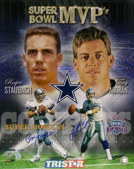 Roger Staubach and Troy Aikman, Dallas Cowboys