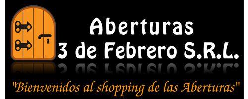ALUMINIO MODENA - ABRIR | Aberturas 3 de Febrero S.R.L.