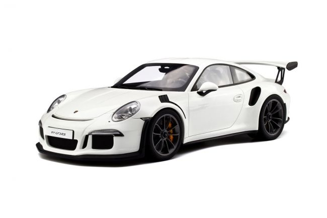 GT Spirit has grown a strong name for itself in building some of the coolest resin models and yet holds them to a reasonable price. Porsche aficionados in particular should make sure they're familiar with the manufacturer, given their breadth of scale model cars… just like this 2016 Porsche 911 (991) GT3 RS.    <em>– Bill@ChoiceGear</em>