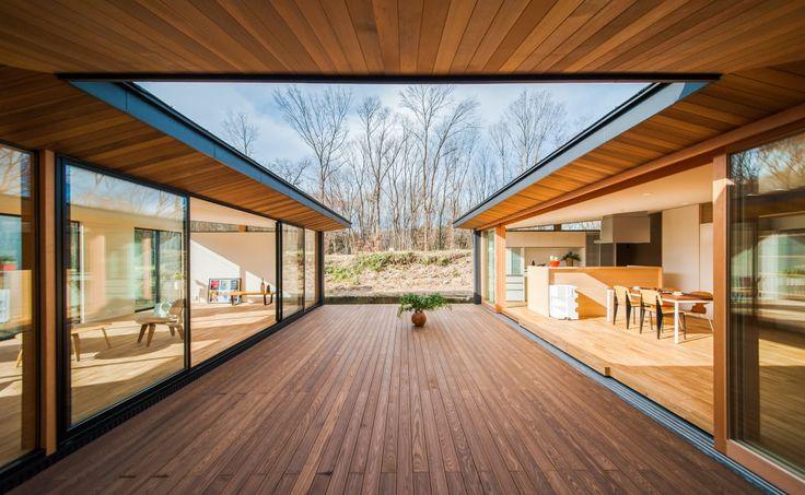 軒裏や軒の深さなど、軒下空間を居心地のいい場所にするには色々な押さえておきたいポイントがあります。