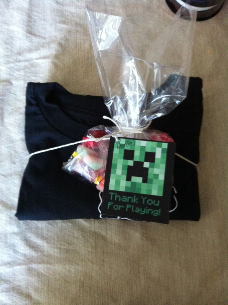 Easy Minecraft Favors Creeper T Shirt From Target Candy