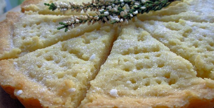 Traditional Rich Scottish Shortbread Biscuits